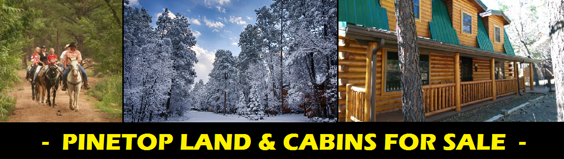 Pinetop Land & Cabins for Sale - Pinetop Land for Sale