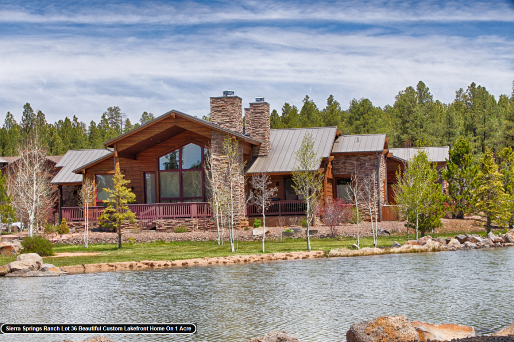 Pinetop land and cabins for sale!